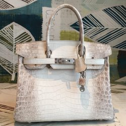 new list latest selection classic chic Excellent Hermes Birkin 30cm Niloticus Crocodile Himalaya Toledo, OH -  hermes replica bags fall winter 2019 - 2851